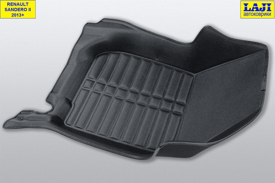 5D коврики в салон Renault Sandero 2 2014-н.в. 5