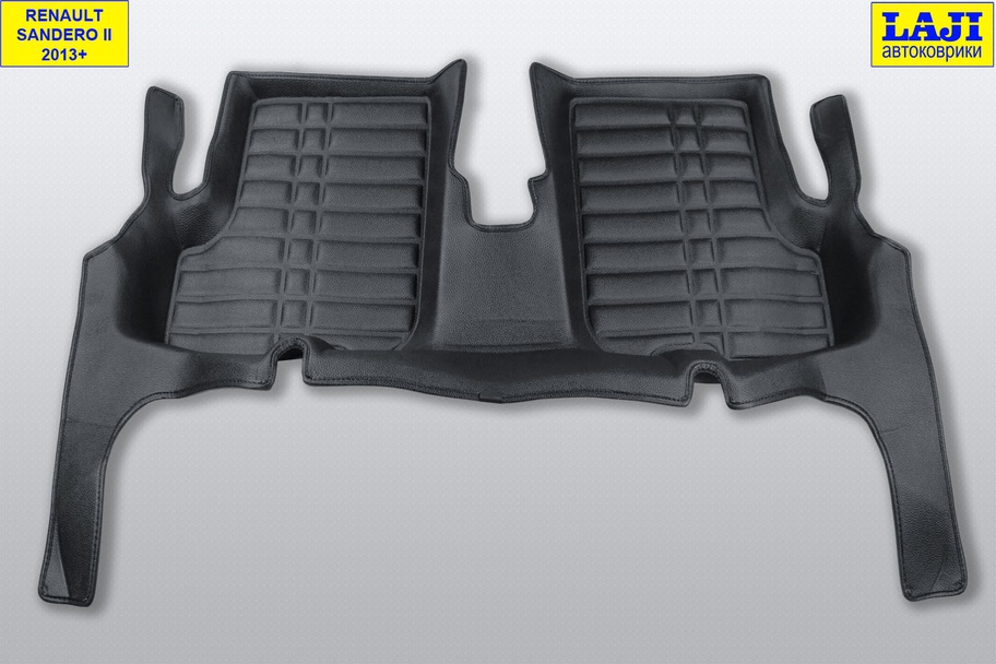 5D коврики в салон Renault Sandero 2 2014-н.в. 9