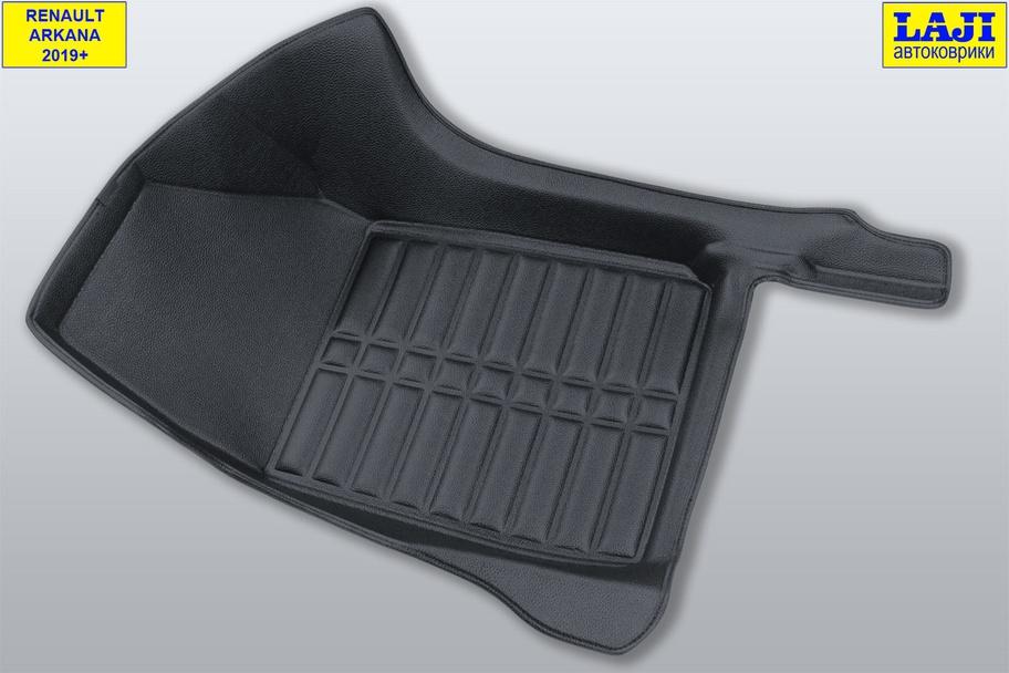 5D коврики в салон Renault Arkana 2019-н.в. 4