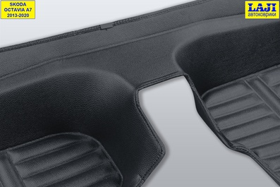 5D коврики в салон Skoda Octavia A7 2013-2020 11