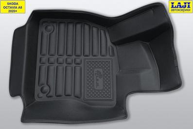 5D коврики в салон Skoda Octavia A8 2020-н.в. 2
