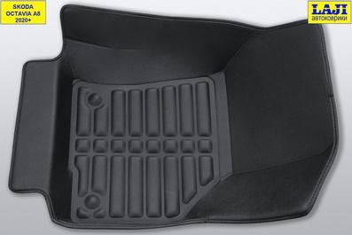 5D коврики в салон Skoda Octavia A8 2020-н.в. 4
