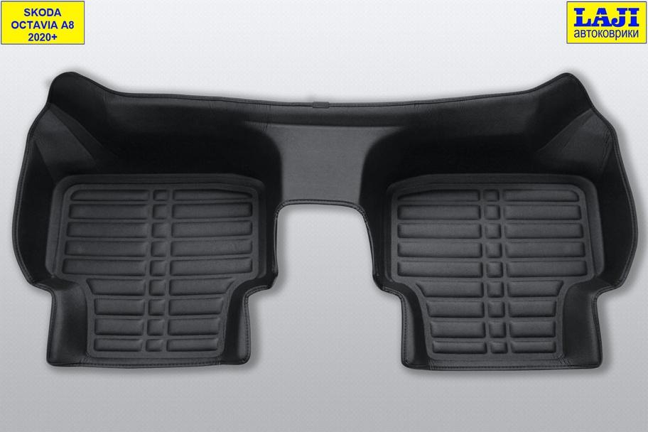 5D коврики в салон Skoda Octavia A8 2020-н.в. 9