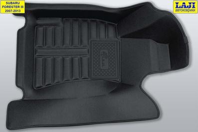 5D коврики в салон Subaru Forester III 2007-2013 2