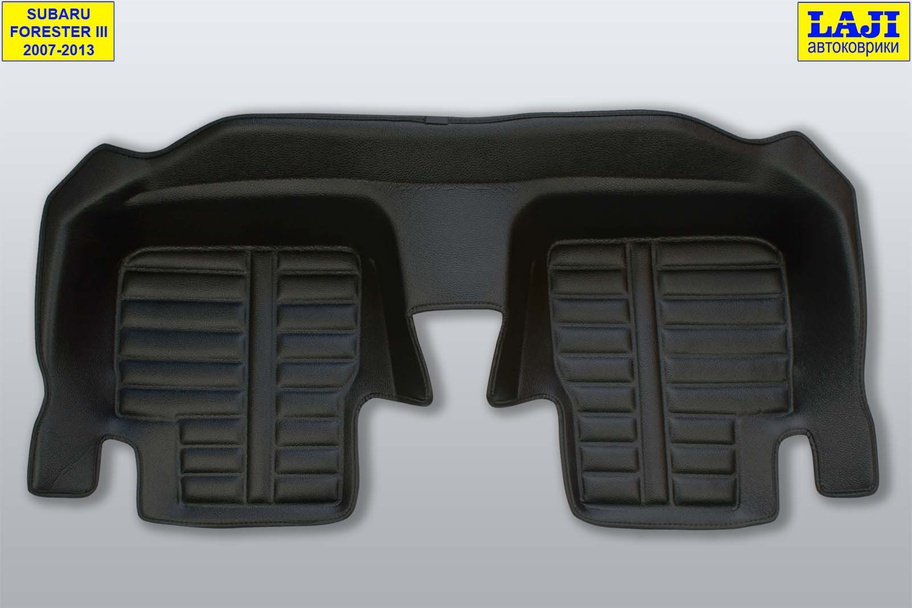 5D коврики в салон Subaru Forester III 2007-2013 9
