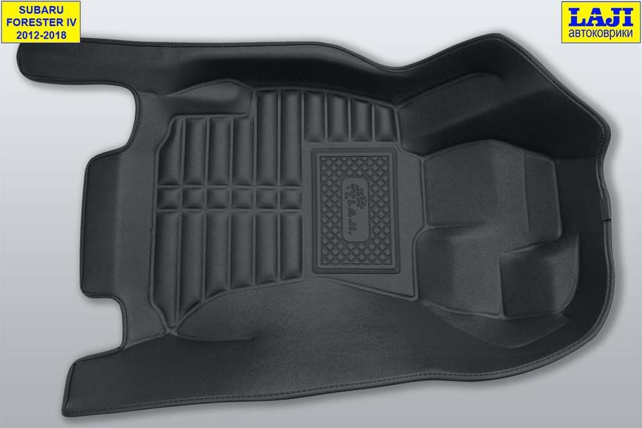 5D коврики в салон Subaru Forester IV 2012-2018 2