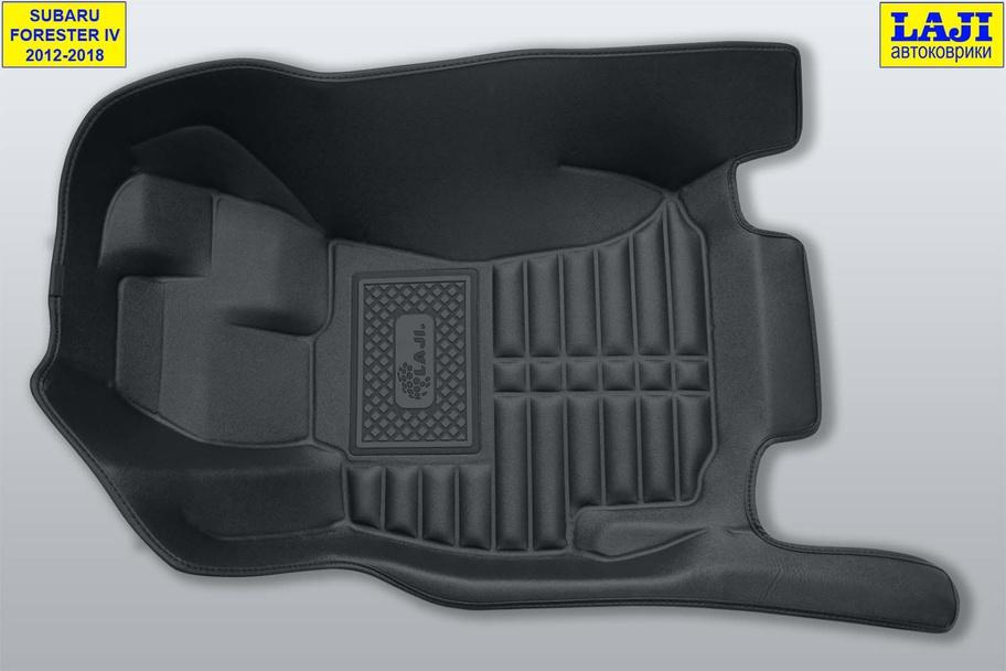 5D коврики в салон Subaru Forester IV 2012-2018 3