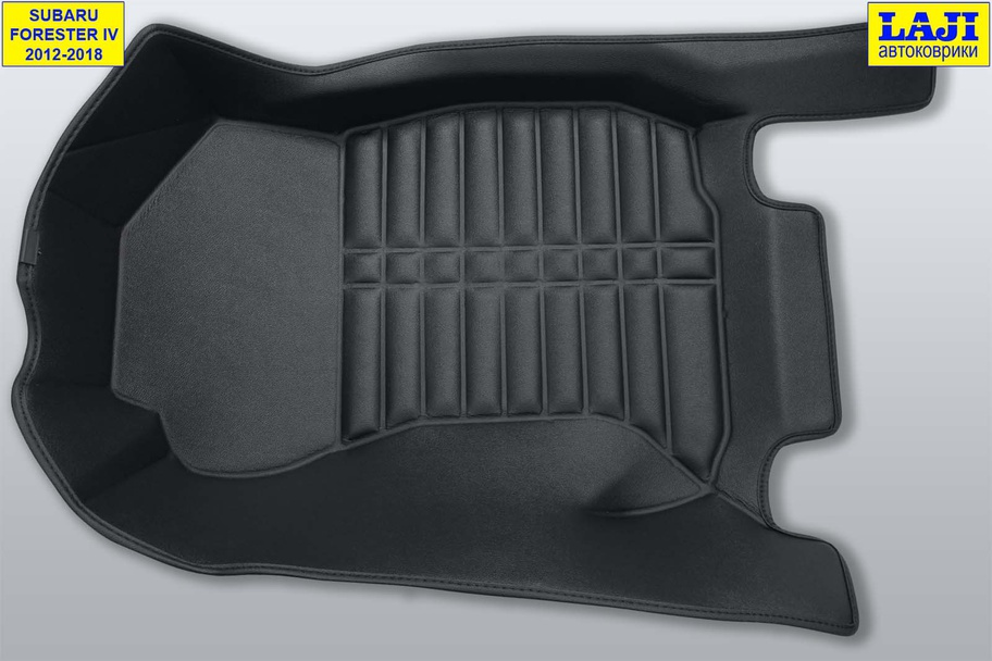 5D коврики в салон Subaru Forester IV 2012-2018 5