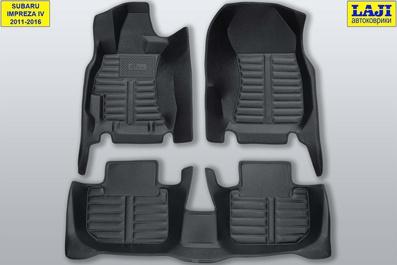 5D коврики в салон Subaru Impreza 4 2011-2016 1