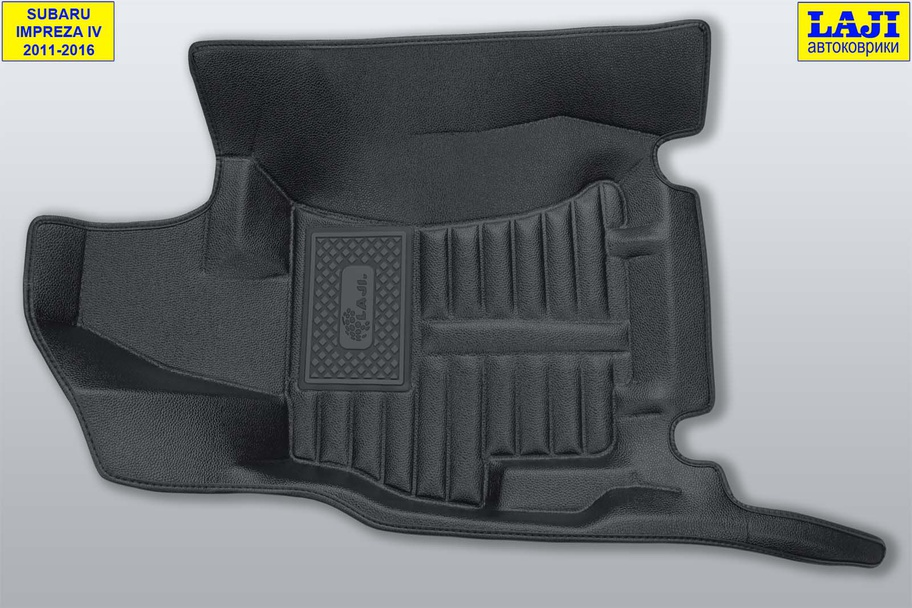 5D коврики в салон Subaru Impreza 4 2011-2016 3