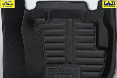 5D коврики в салон Subaru Impreza 4 2011-2016 8