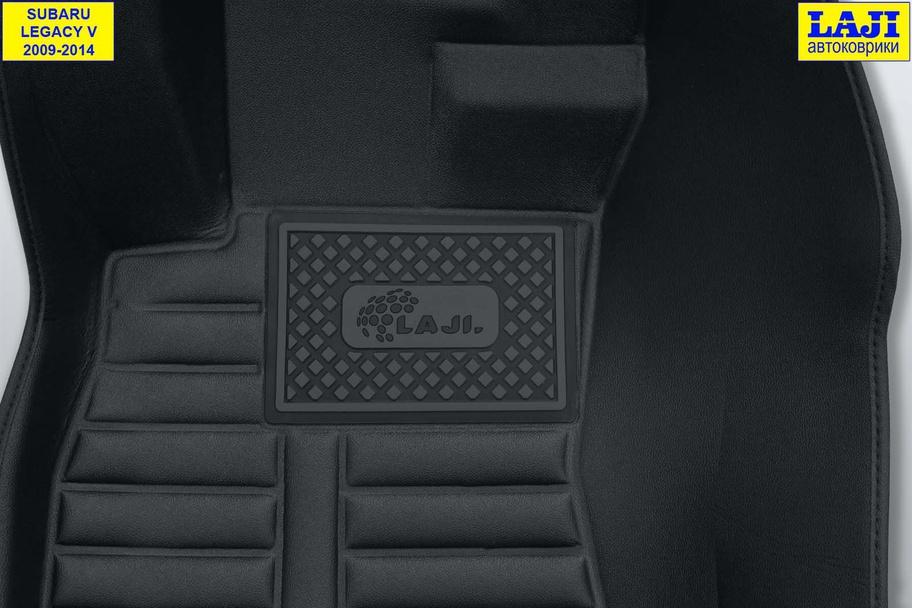 5D коврики в салон Subaru Legacy 5 2009-2014 7