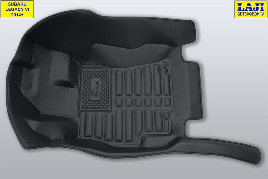 5D коврики в салон Subaru Legacy VI 2014-н.в. 3