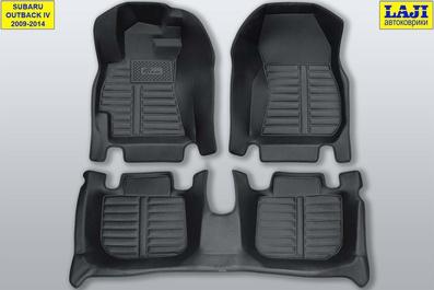 5D коврики в салон Subaru Outback 4 2009-2014 1