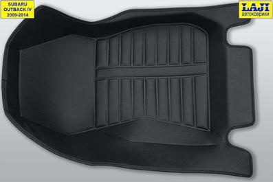 5D коврики в салон Subaru Outback 4 2009-2014 5