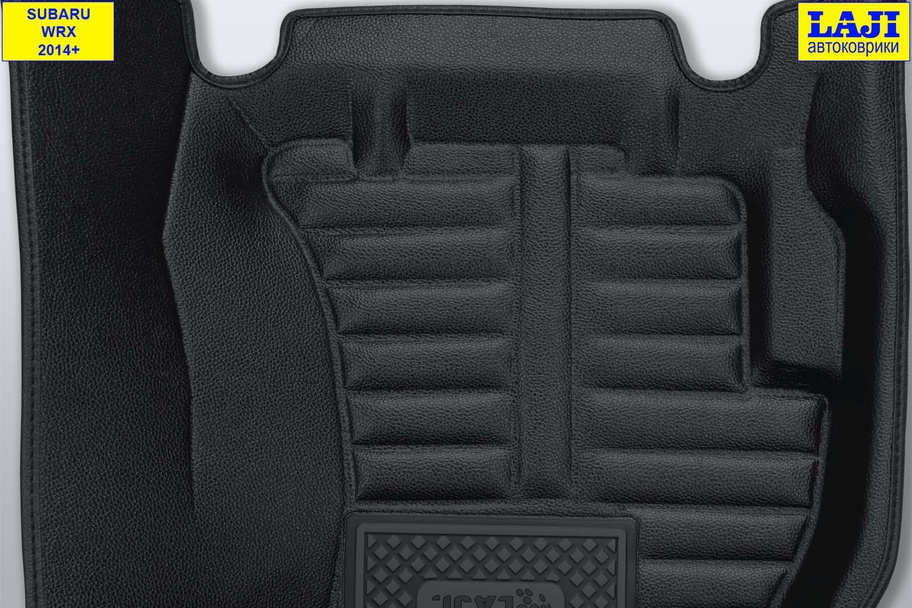 5D коврики в салон Subaru WRX 2014-н.в. 8