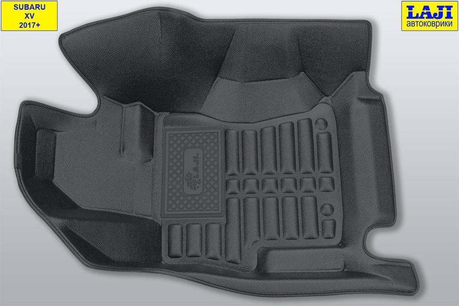 5D коврики в салон Subaru XV 2017-н.в. 3