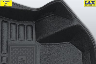 5D коврики в салон Subaru XV 2017-н.в. 6