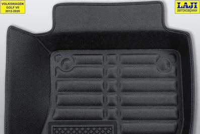 5D коврики в салон Volkswagen Golf 7 2012-2020 8