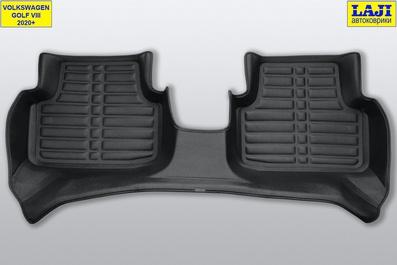 5D коврики в салон Volkswagen Golf 8 2020-н.в. 10
