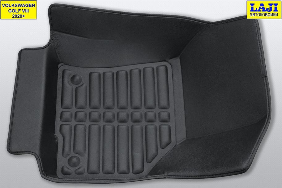 5D коврики в салон Volkswagen Golf 8 2020-н.в. 4