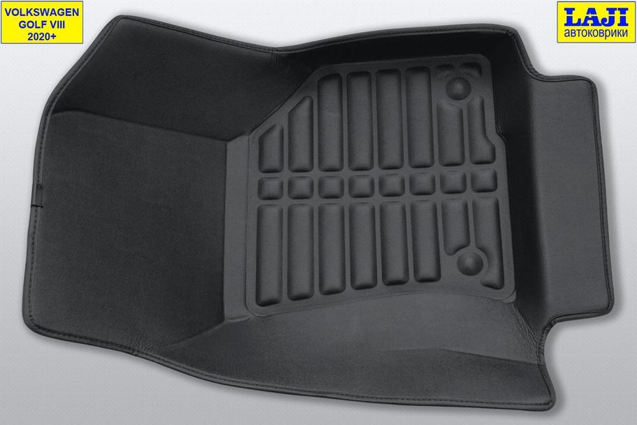5D коврики в салон Volkswagen Golf 8 2020-н.в. 5