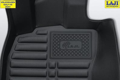 5D коврики в салон Volkswagen Golf 8 2020-н.в. 7