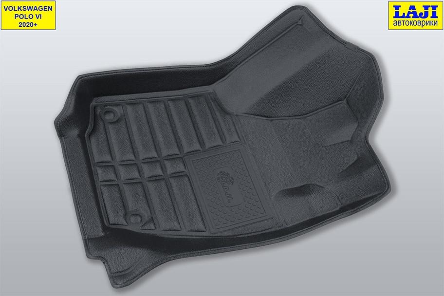 5D коврики в салон Volkswagen Polo 6 2020-н.в. 2