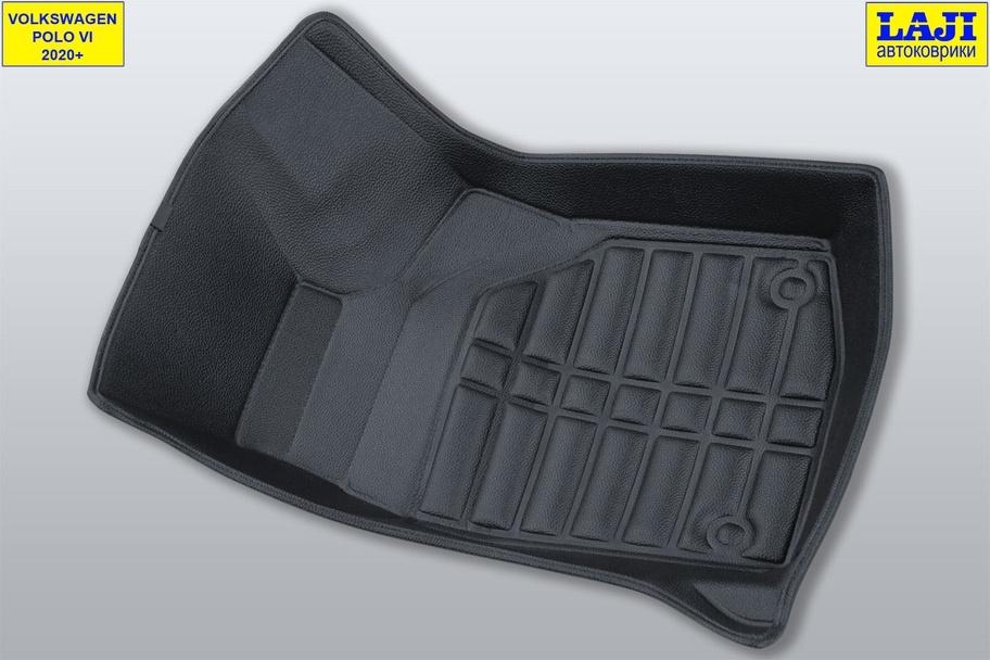 5D коврики в салон Volkswagen Polo 6 2020-н.в. 4