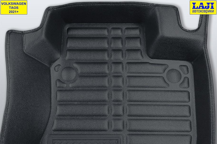 5D коврики в салон Volkswagen Taos 2021-н.в. 8