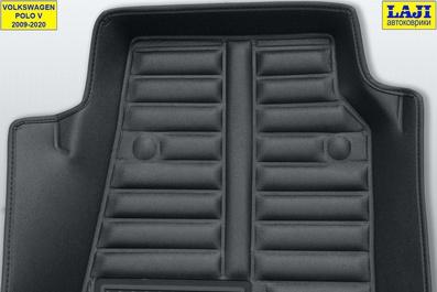 5D коврики в салон Volkswagen Polo 5 2009-2020 8