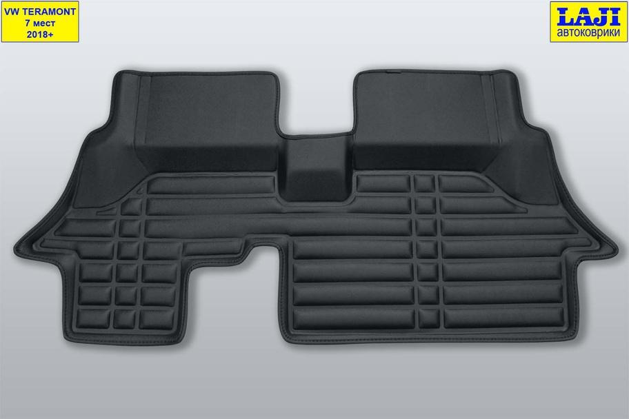 5D коврики в салон Volkswagen Teramont 7 мест 11