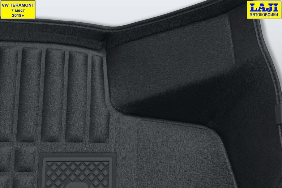 5D коврики в салон Volkswagen Teramont 7 мест 6