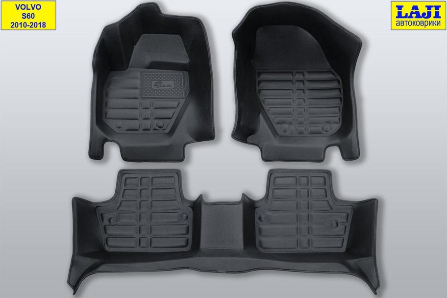 5D коврики в салон Volvo S60 II 2010-2018 1