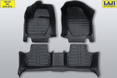 5D коврики в салон Volvo V60 I 2010-2018 1