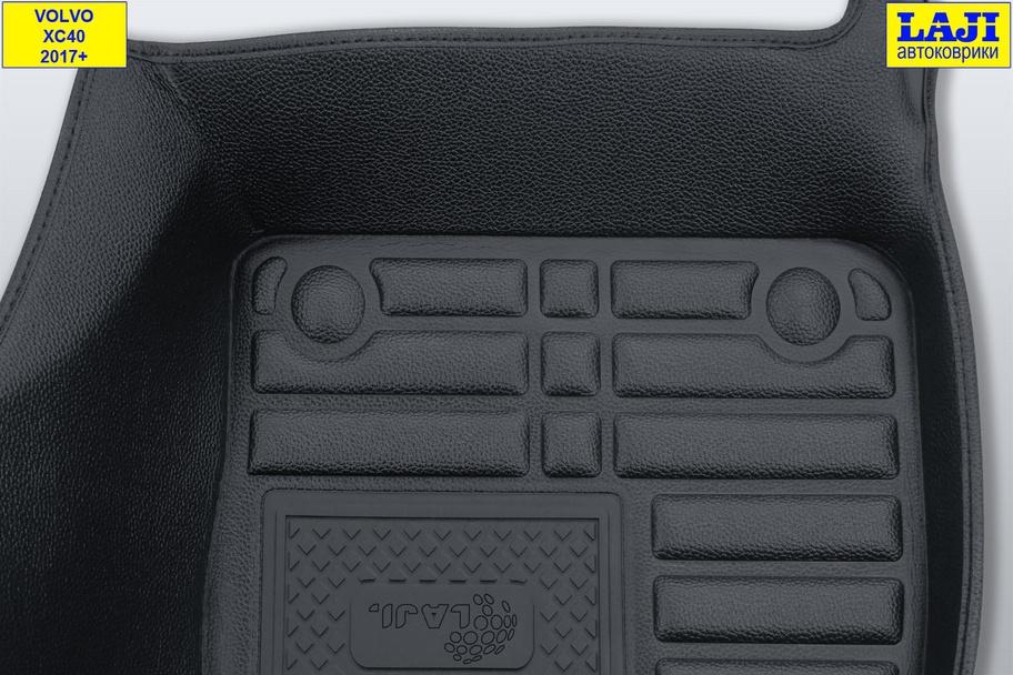 5D коврики в салон Volvo XC40 2017-н.в. 8