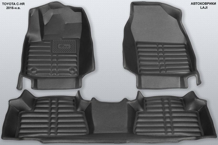 5D коврики в салон Toyota C-HR 2016-н.в. 1