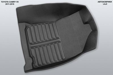 5D коврики в салон Toyota Camry XV50 2011-2018 4