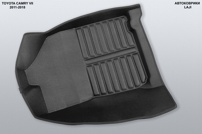 5D коврики в салон Toyota Camry XV50 2011-2018 5