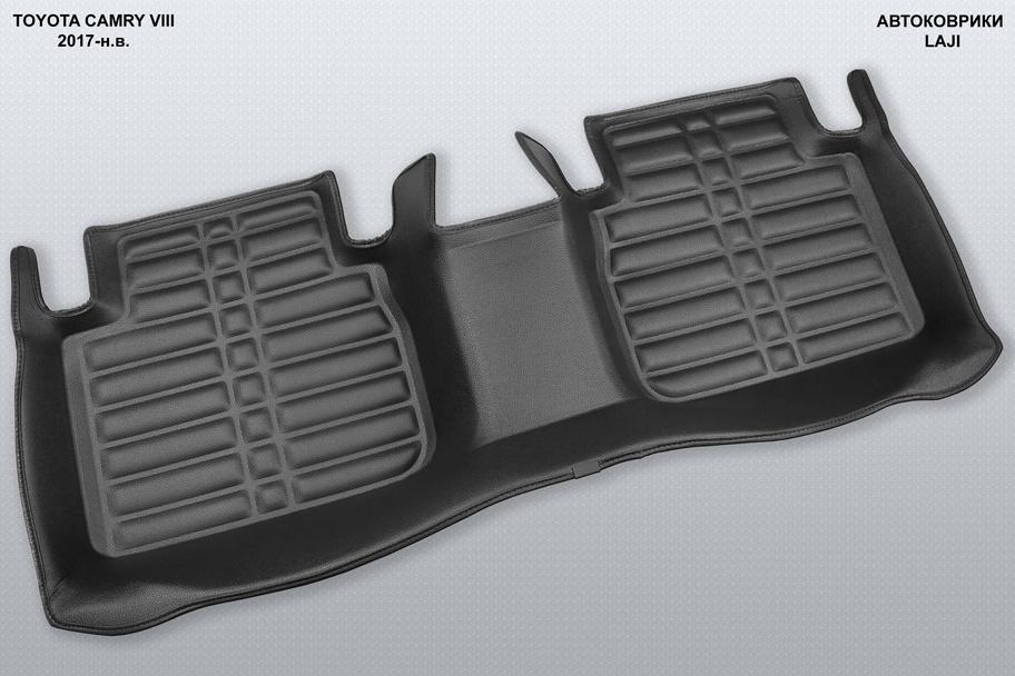 5D коврики в салон Toyota Camry 8 XV70 2018-н.в. 7