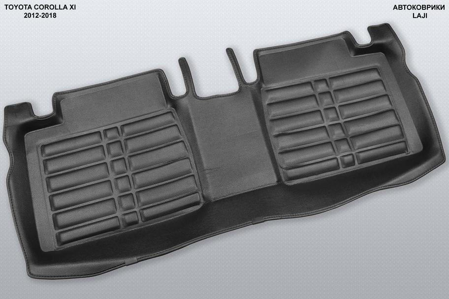 5D коврики в салон Toyota Corolla E170 2012-2018 7