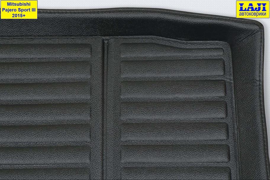 3D коврик в багажник Mitsubishi Pajero Sport III 2015-н.в. 3