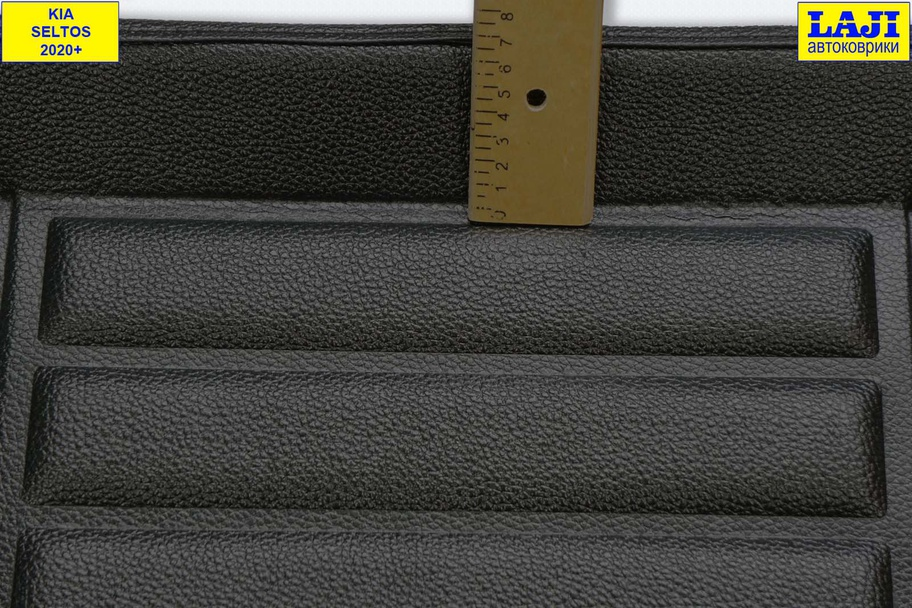3D коврик в багажник Kia Seltos 2020-н.в. 5