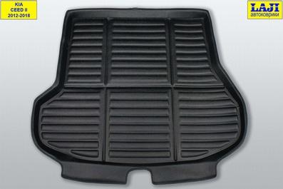 3D коврик в багажник Kia Ceed SW II 2012-2018 1