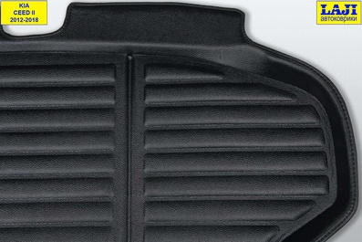 3D коврик в багажник Kia Ceed SW II 2012-2018 3