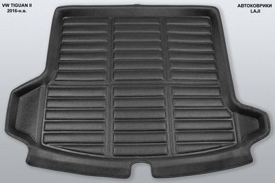 3D коврик в багажник Volkswagen Tiguan 2 2016-н.в. 1