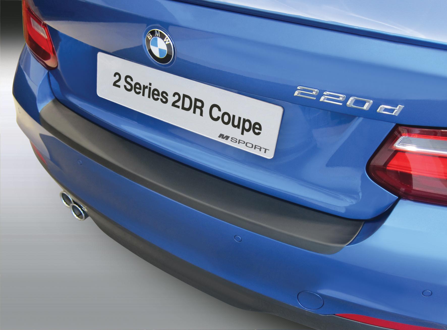 Накладка на задний бампер BMW 2 серии M Sport, 2-дв. купе, кузов F22, 2015-2018