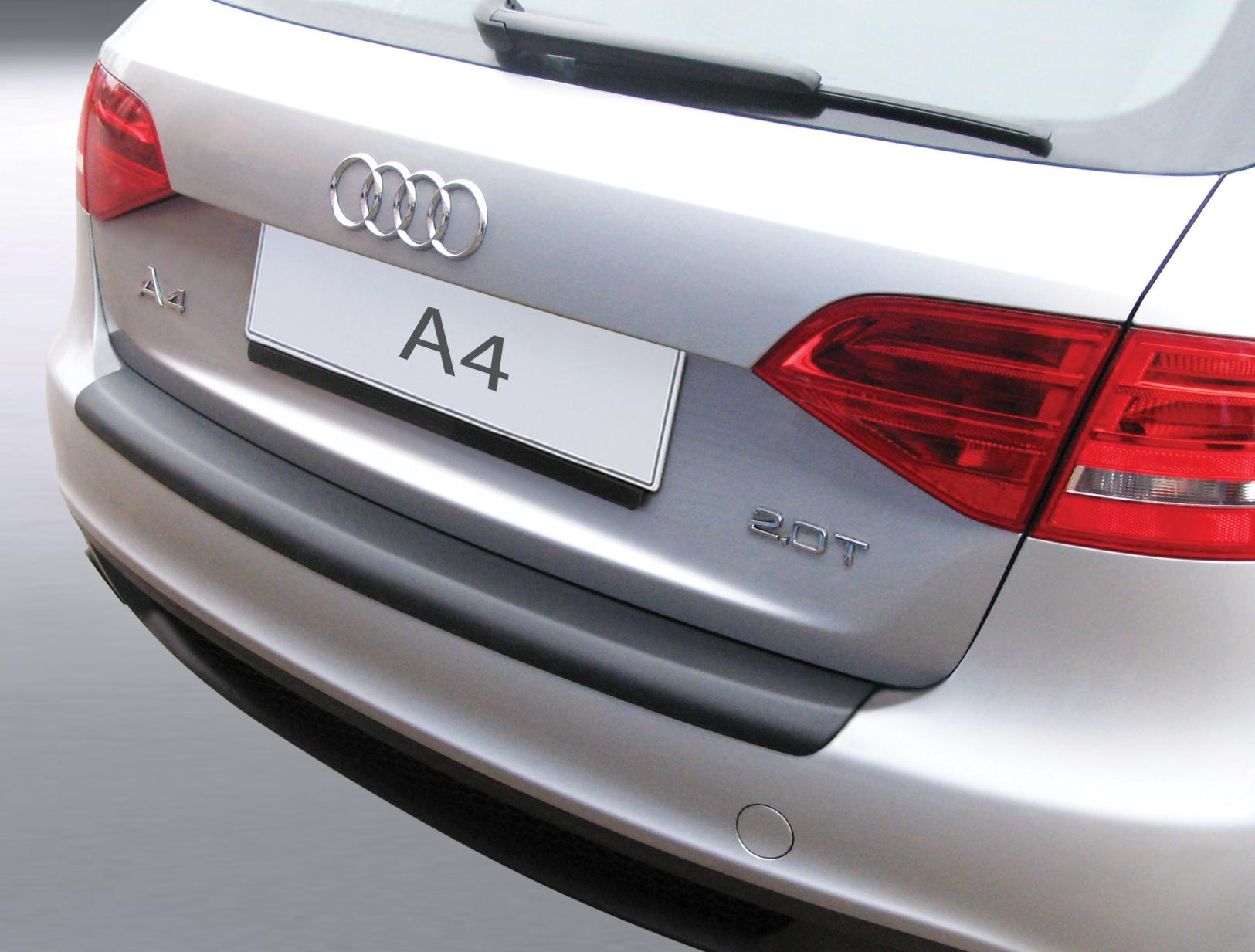 Накладка на задний бампер Audi A4 Avant, Ауди А4 универсал, 2008-2012