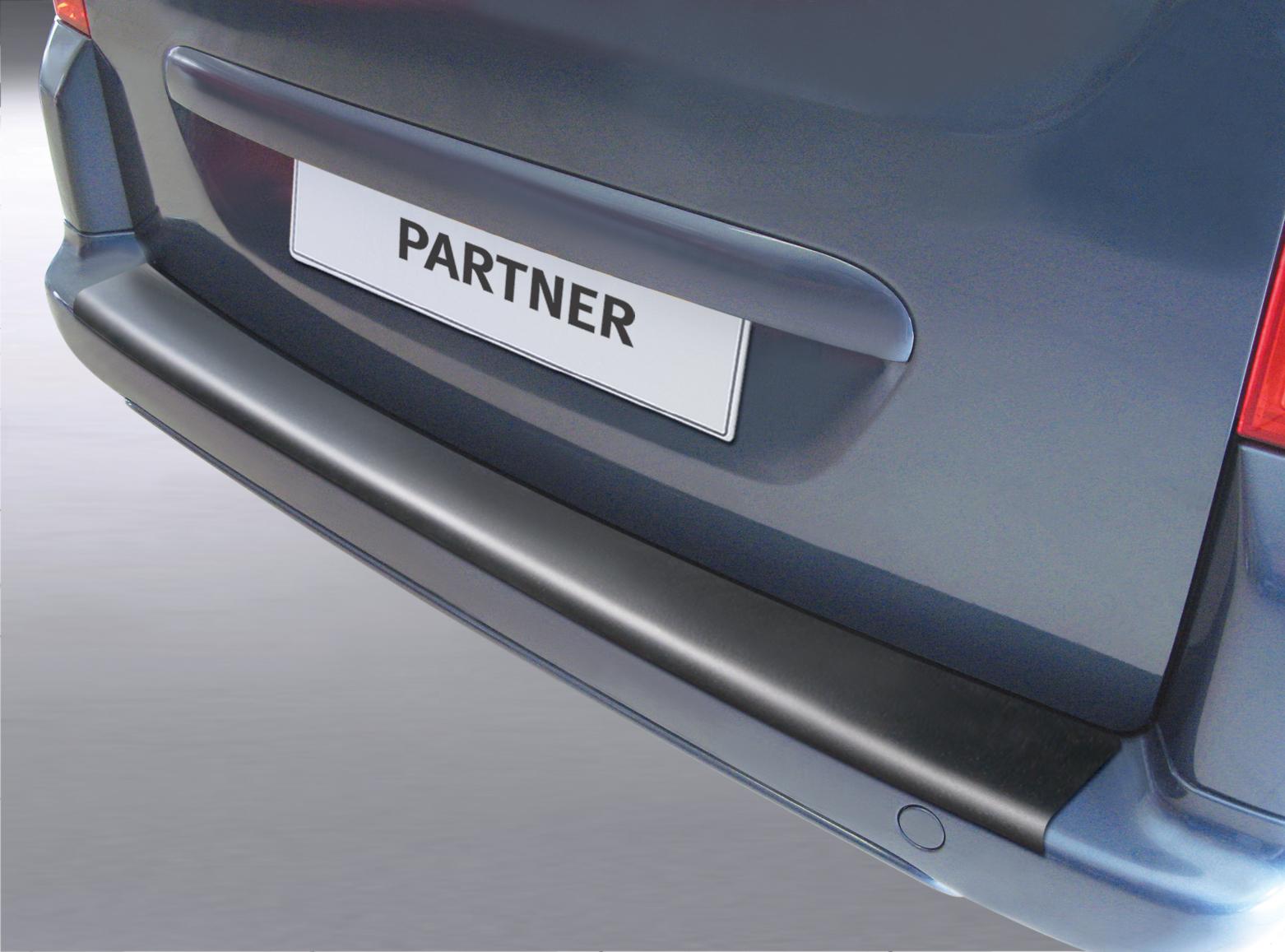 Накладка заднего бампера Peugeot Partner Teppe, 2015-н.в.