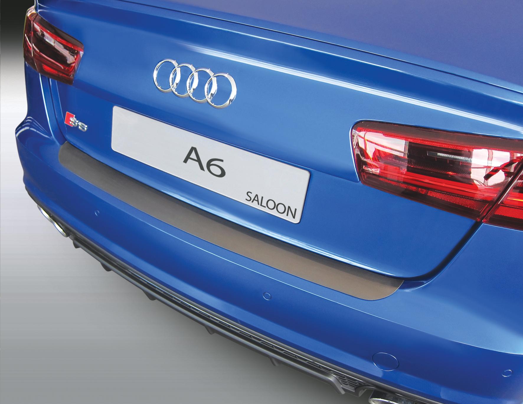 Накладка на задний бампер Audi A6 / S6, седан, 2016-2018